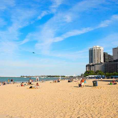 Photo of Oak Street Beach in Near North Side, Chicago