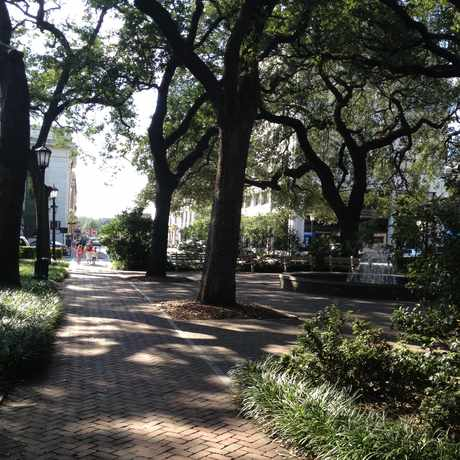 Photo of Orleans Square in Savannah