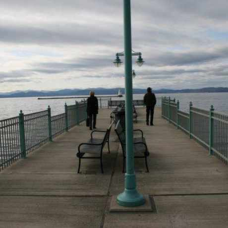 Photo of Fishing Pier Burlington Waterfront in Old North End, Burlington