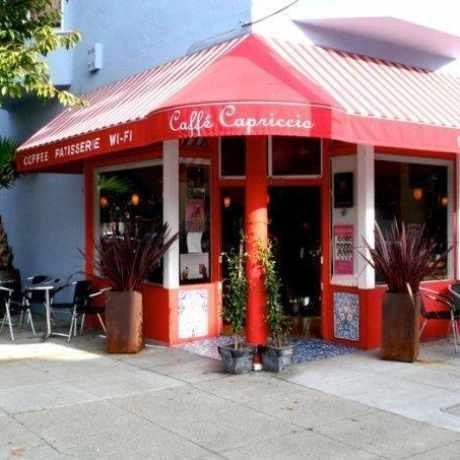 Photo of Caffe Capriccio in North Beach, San Francisco