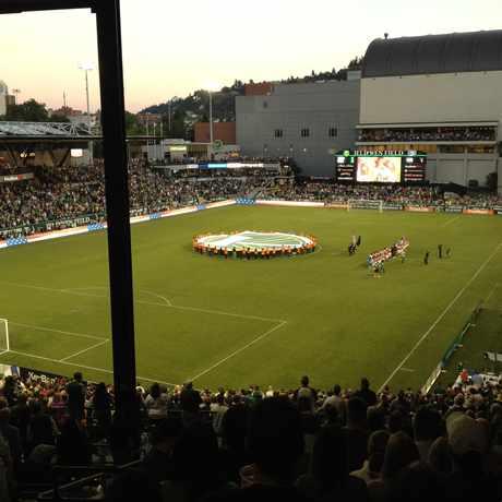 Photo of Jeld-Wen Field in Portland