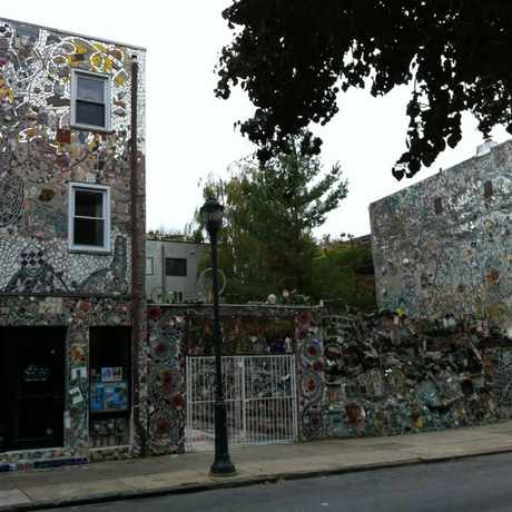 Photo of Philadelphia's Magic Gardens in Washington Square West, Philadelphia