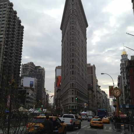 Photo of The Flatiron Building in NoMad, New York