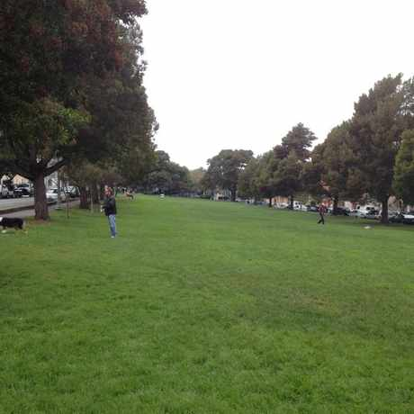 Photo of Precita Park in Bernal Heights, San Francisco