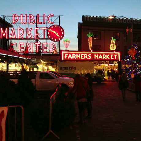 Photo of Pike Place Market in Seattle