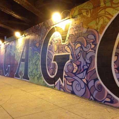 Photo of Underpass in Fulton River District, Chicago