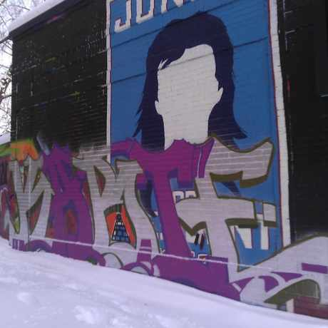 Photo of Joe Mural in Lowry Hill East, Minneapolis