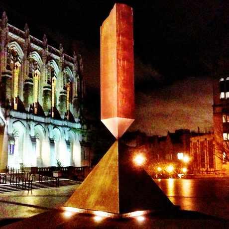 Photo of Broken Obelisk in University District, Seattle