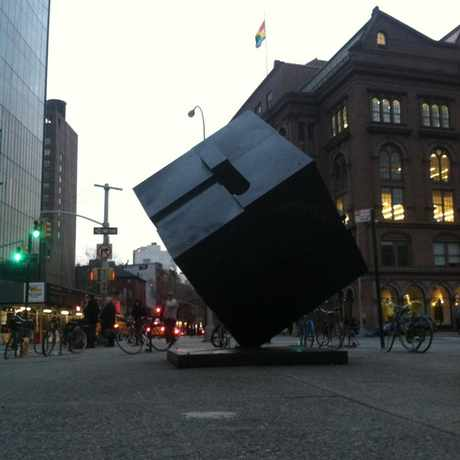 Photo of Astor Place Cube in NoHo, New York
