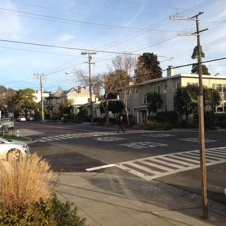 Photo of Ashby Av:Hillegass Av in Oakland