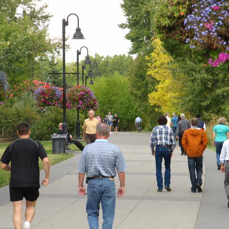 Photo of Eau Claire Promenade in Eau Claire, Calgary