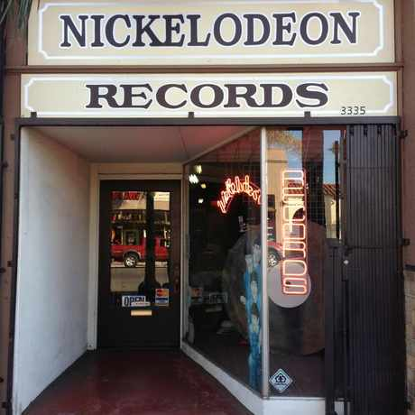 Photo of Nickelodeon Records in Normal Heights, San Diego