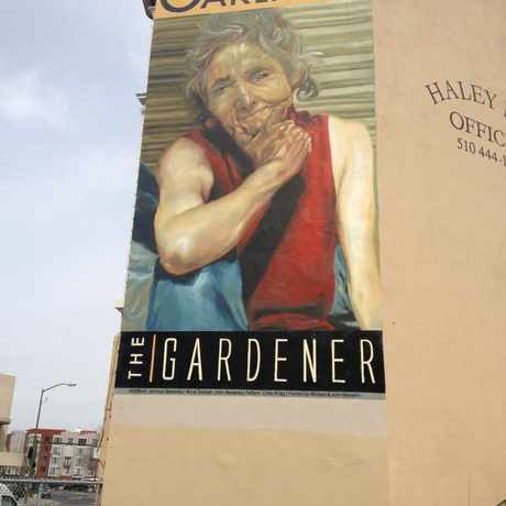 Photo of People Of Oakland: The Gardener in Oakland