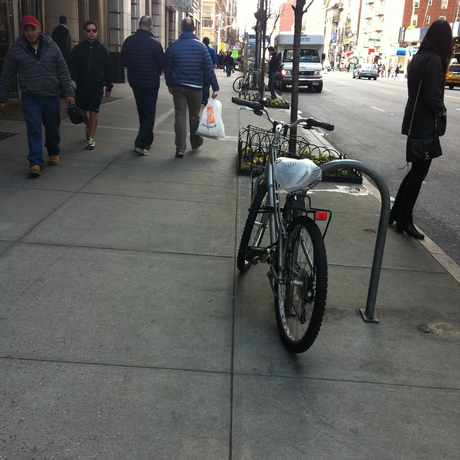 Photo of NY 23rd Street & 8th Ave in NoMad, New York