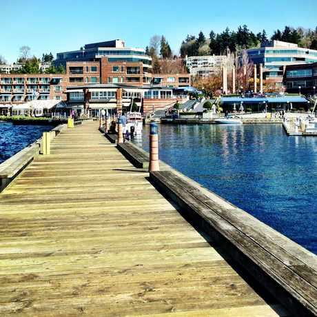 Photo of Carillon Point Boardwalk in Kirkland