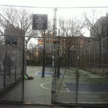 Photo of West Fourth Street Courts in Greenwich Village, New York