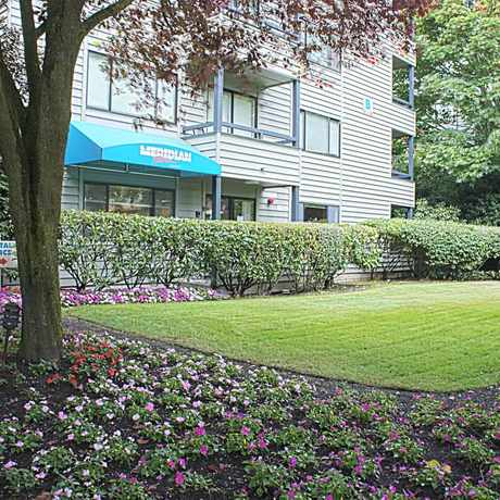 Photo of Meridian Place Apartments in North College Park, Seattle