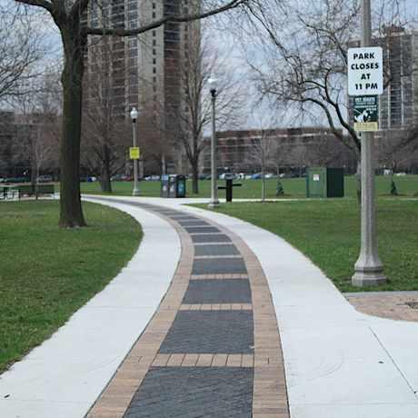 Photo of Dunbar Park in Bronzeville, Chicago