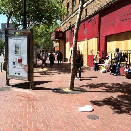 Photo of Market and Jones Street in Tenderloin, San Francisco