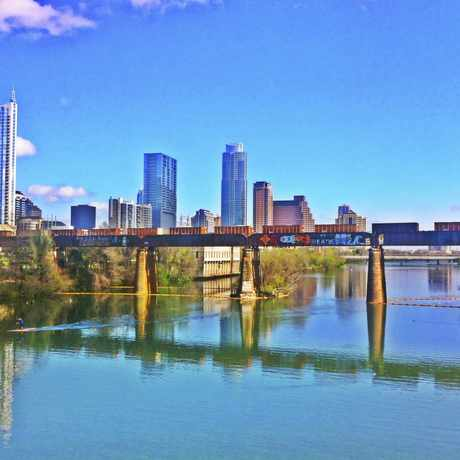 Photo of Pfluger Ped Bridge in Downtown, Austin