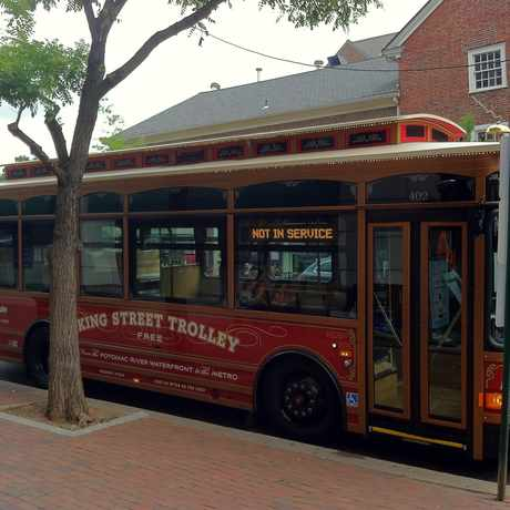 Photo of King Street Trolley in Old Town, Alexandria