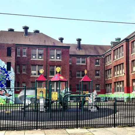 Photo of Bryant Elementary School in Philadelphia