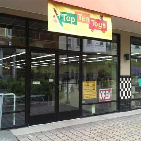 Photo of Top Ten Toys, North 85th Street, Seattle, WA in Greenwood, Seattle
