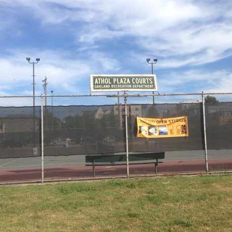 Photo of Athol Plaza Tennis Courts in Merritt, Oakland