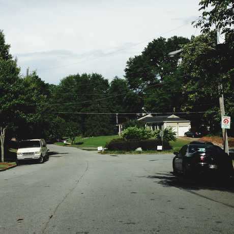 Photo of Going Into Garden Hills in Garden Hills, Atlanta
