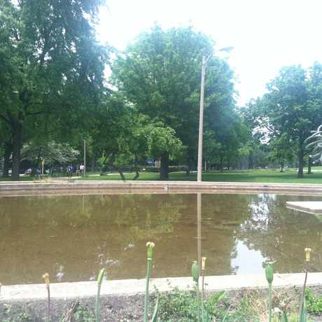 Photo of Nichols Park in Hyde Park, Chicago