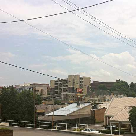 Photo of Overlooking Campus and Cumberland Ave. in Fort Sanders, Knoxville
