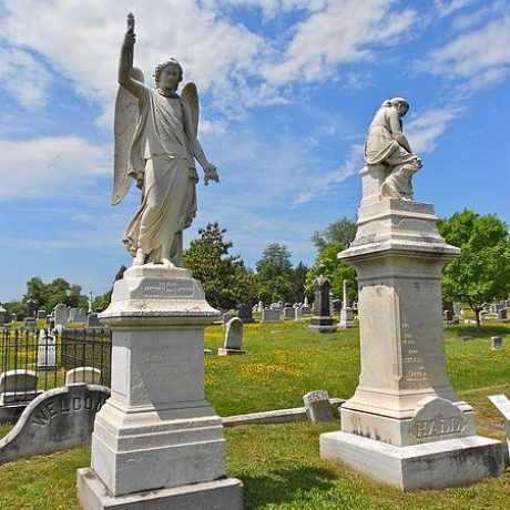 Photo of Congressional Cemetery in Capitol Hill, Washington D.C.