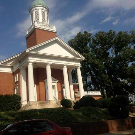 Photo of St. Paul's Memorial Church in Charlottesville