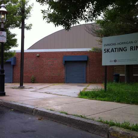 Photo of Emmons-Horrigan-O'Neil Skating Rink in Thompson Square - Bunker Hill, Boston