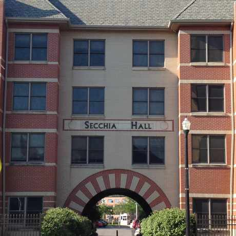Photo of Secchia Hall in Grand Rapids