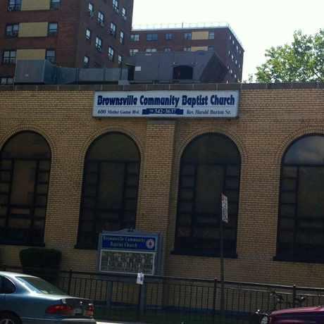 Photo of Brownsville Baptist Church Near Motherfaston Blvd in Brownsville, New York