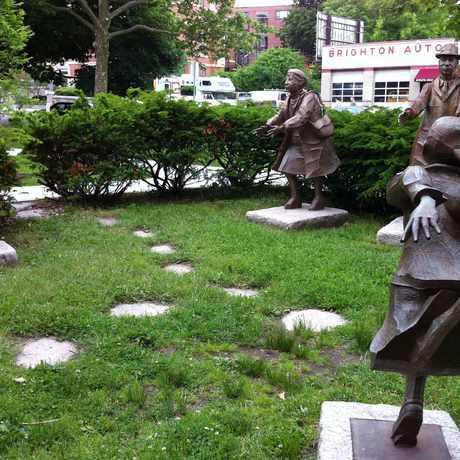 Photo of Brighton Common Statues in St. Elizabeth's, Boston