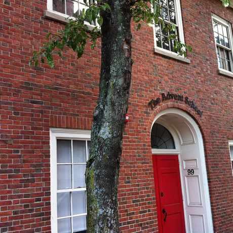Photo of Advent School in Beacon Hill, Boston