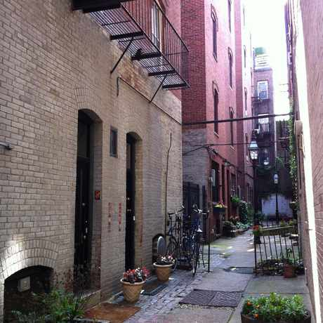 Photo of Champney Place Private Way in Beacon Hill, Boston