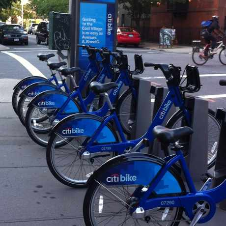 Photo of Citi Bike: S Portland Av & Hanson Pl in Fort Greene, New York