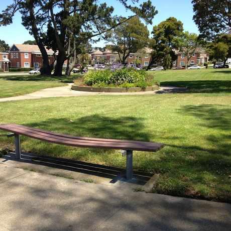 Photo of Juan Bautista Circle in Parkmerced, San Francisco