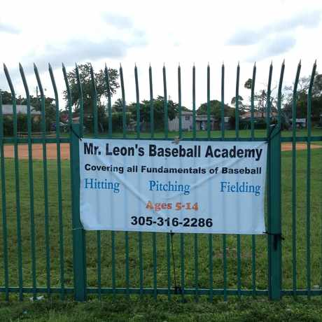 Photo of Mr. Leon's Baseball Academy in Miami