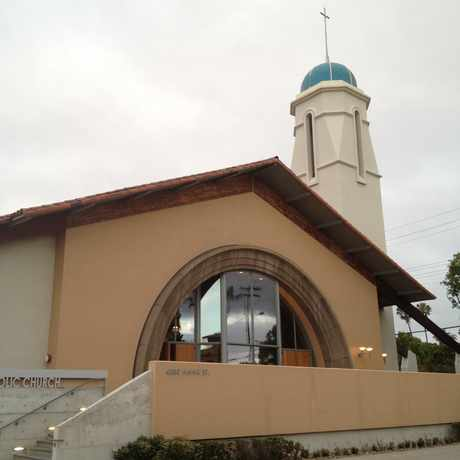 Photo of St. Vincent Catholic Church in Mission Hills, San Diego