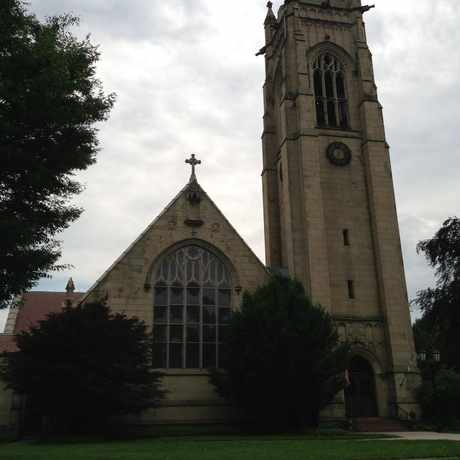 Photo of St. Paul's Episcopal Church in East Avenue, Rochester