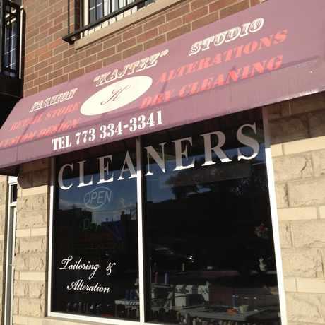 "Photo of Kajtez Fashion Studio (""K"" Cleaners) in Lincoln Square, Chicago"
