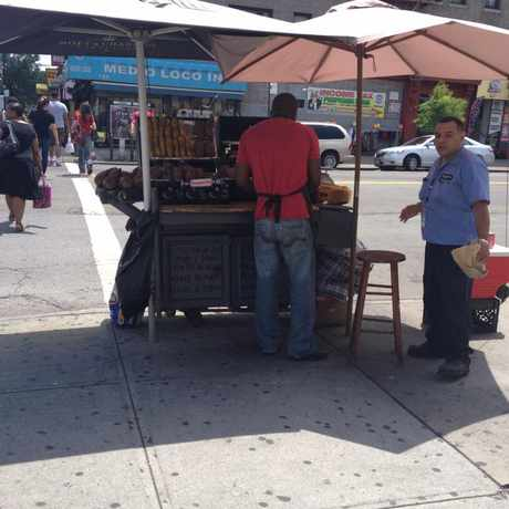 Photo of Dyckman St. in Washington Heights, New York