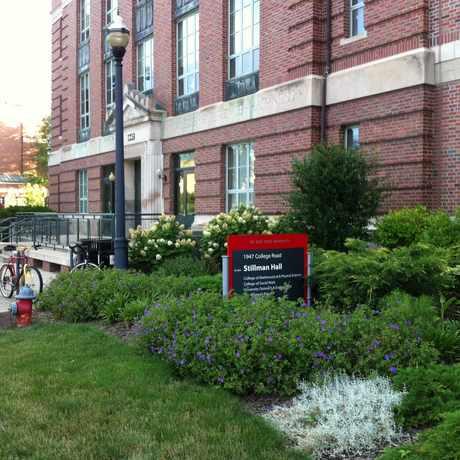 Photo of Stillman Hall in The Ohio State University, Columbus