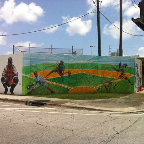 Photo of Dorsey Park in Overtown, Miami