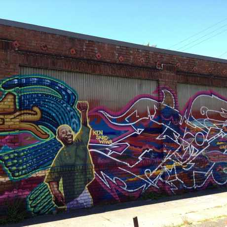 Photo of Street Art, 30th and West St., Oakland CA in Hoover-Foster, Oakland