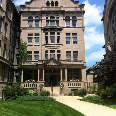 Photo of St. Vincent Rectory in DePaul, Chicago